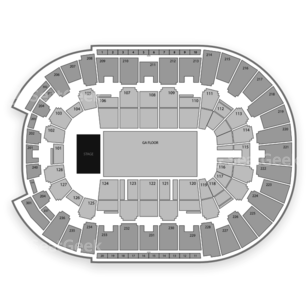 Dunkin' Donuts Center Seating Chart Concert
