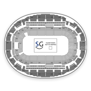 Verizon Wireless Arena Seating Chart Broadway Tickets National
