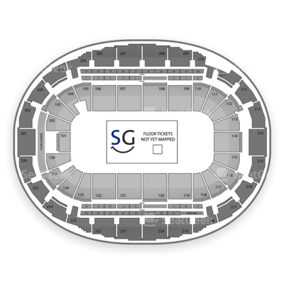 Verizon Wireless Arena seating chart Marvel Universe Live