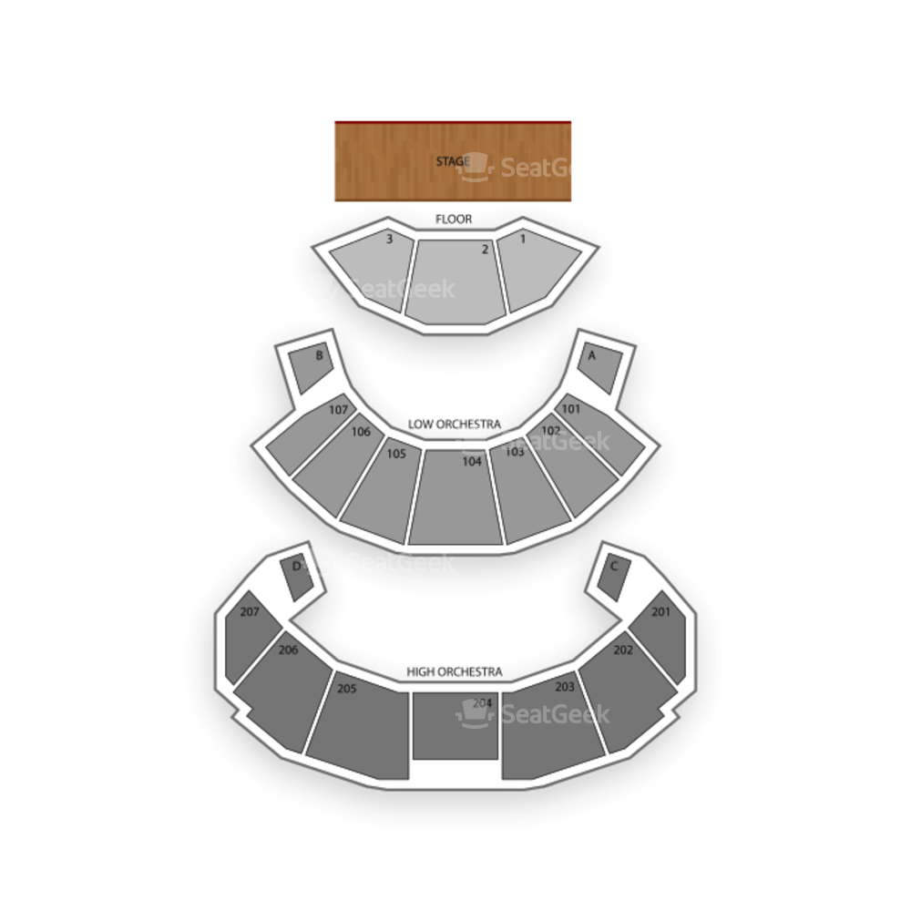 Revel Resort and Casino Seating Chart Concert