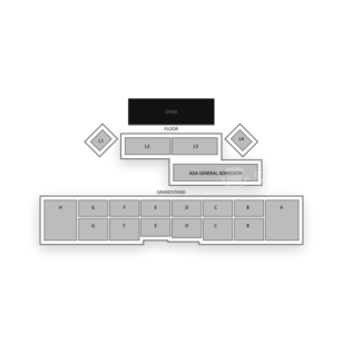 Evergreen State Fair Seating Chart Concert