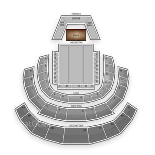 Davies Symphony Hall Seating Chart Theater