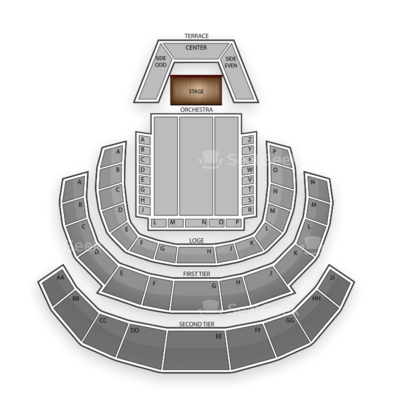 Davies Symphony Hall seating chart Max Raabe & Palast Orchester