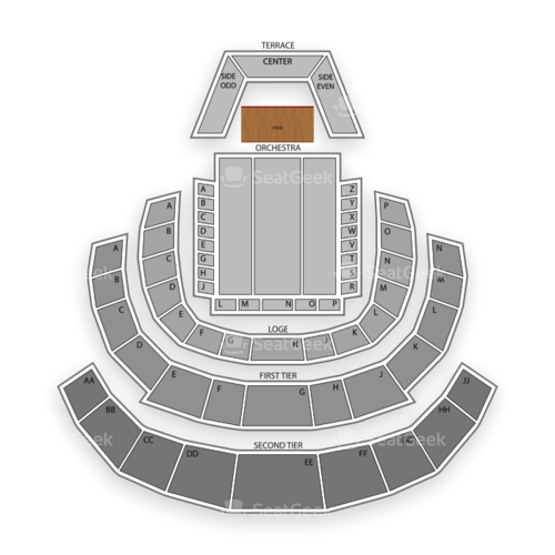 Davies Symphony Hall Seating Chart Concert
