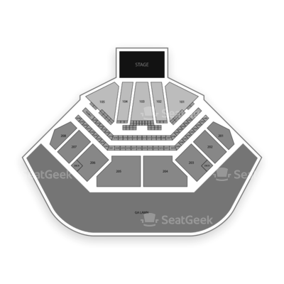 Hollywood Amphitheatre Seating Chart The Who