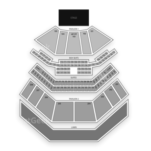 First Midwest Bank Amphitheatre Seating Chart Concert