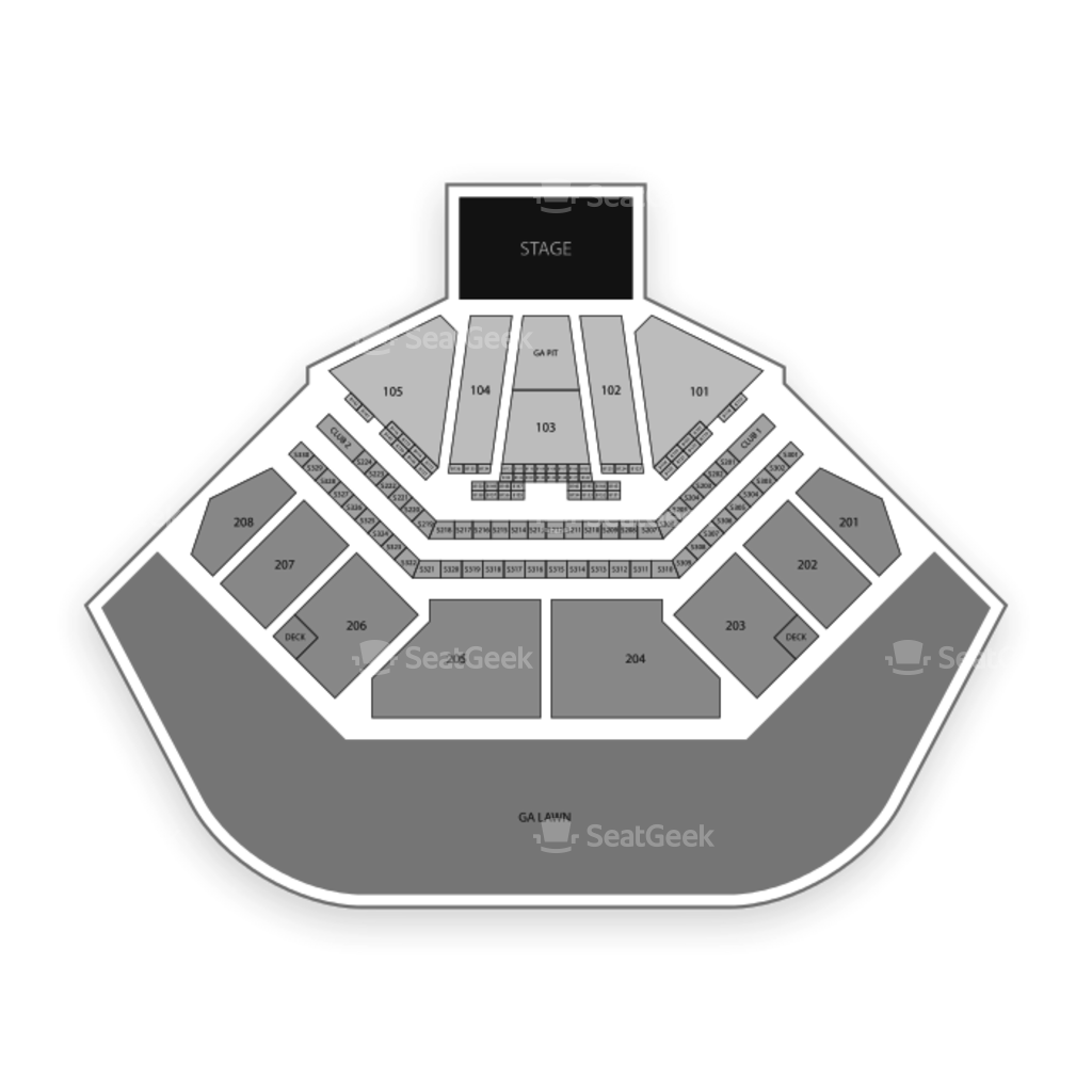 Hollywood Casino Amphitheatre Seating Chart Seatgeek