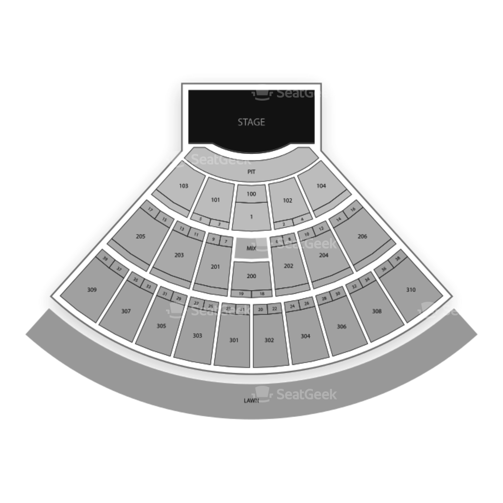 Lakeview Amphitheater Seating Chart Concert