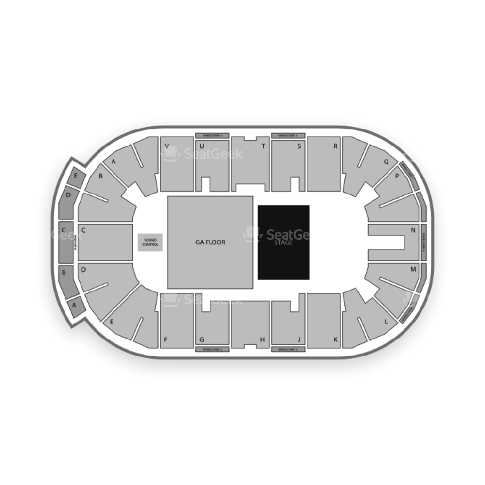 Mosaic Place Seating Chart Concert