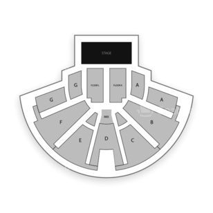 Center Stage Theatre Seating Chart Concert