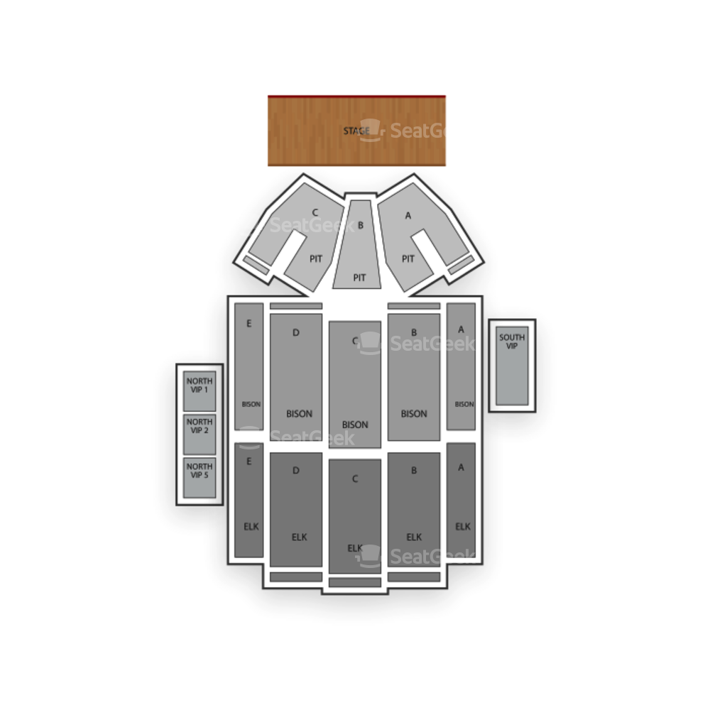 Pinewood Bowl Theater Seating Chart Concert