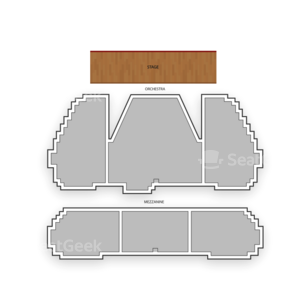 Marquis Theatre Seating Chart Comedy