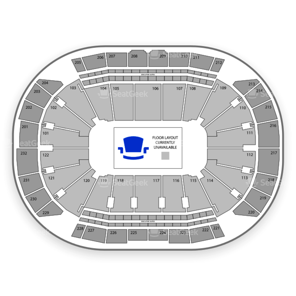 Sprint Center Seating Chart Comedy