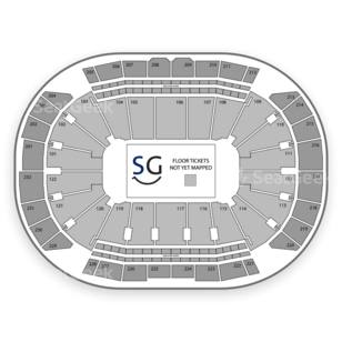 Sprint Center Seating Chart Wrestling