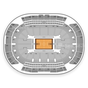 Sprint Center Seating Chart NCAA Basketball