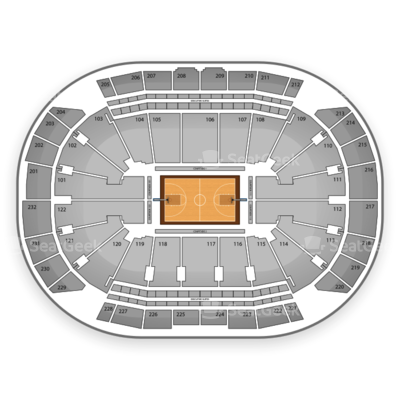 Sprint Center seating chart Big 12 Mens Basketball Tournament