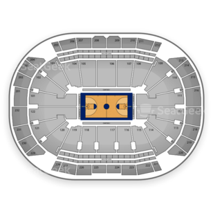 Sprint Center Seating Chart NBA