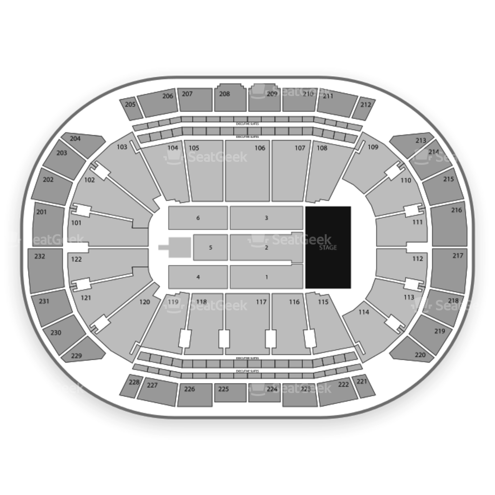 Sprint Center Seating Chart Concert