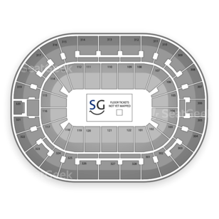 BOK Center Seating Chart MMA