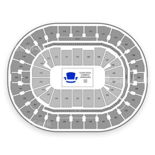 BOK Center Seating Chart Family