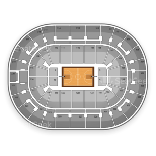 BOK Center Seating Chart WNBA