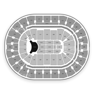 BOK Center Seating Chart Concert