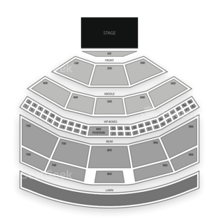 Riverbend Music Center Seating Chart Theater