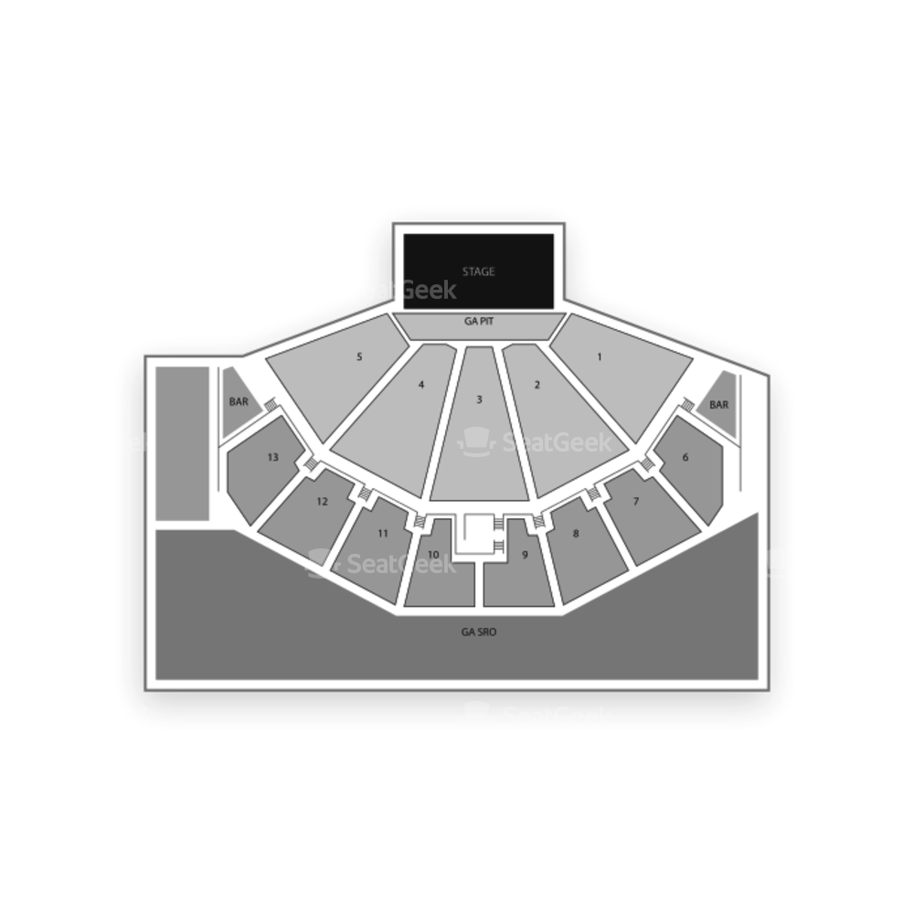 BMO Harris Pavilion Seating Chart Concert