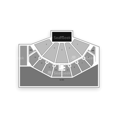 Bmo Harris Pavilion Seating Chart Map Seatgeek