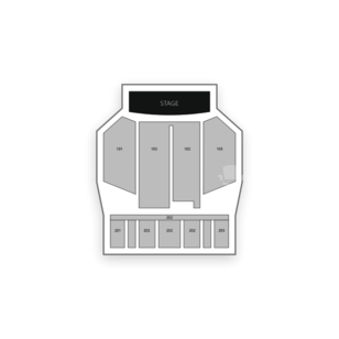 Silver Creek Event Center at Four Winds New Buffalo Seating Chart Theater