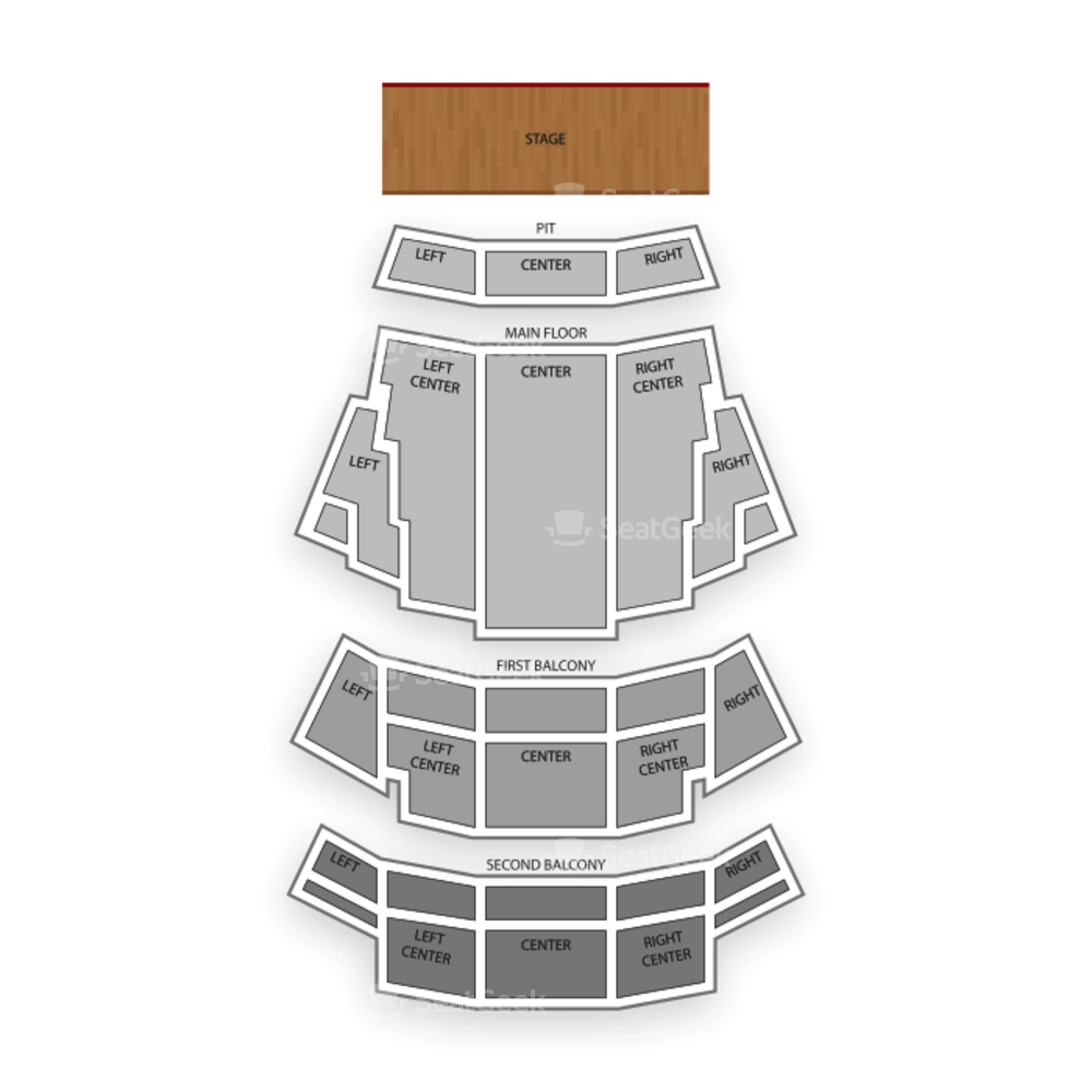 Northern Alberta Jubilee Auditorium Seating Chart Theater