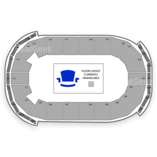 Austin Acoustic Seating Chart