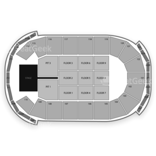 Cedar Park Center Seating Chart Concert