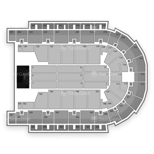 Boardwalk Hall Seating Chart
