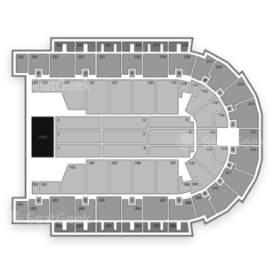 Boardwalk Hall Seating Chart Theater