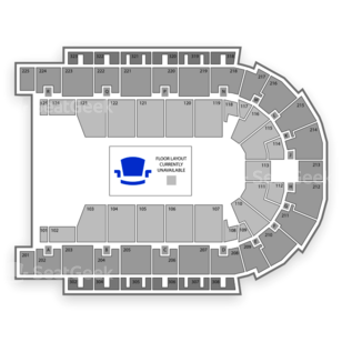 Boardwalk Hall Seating Chart American Finals Rodeo