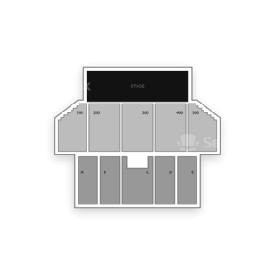Borgata Hotel Casino & Spa Seating Chart Comedy