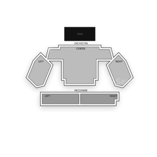 New World Stages / Stage 1 Seating Chart Concert