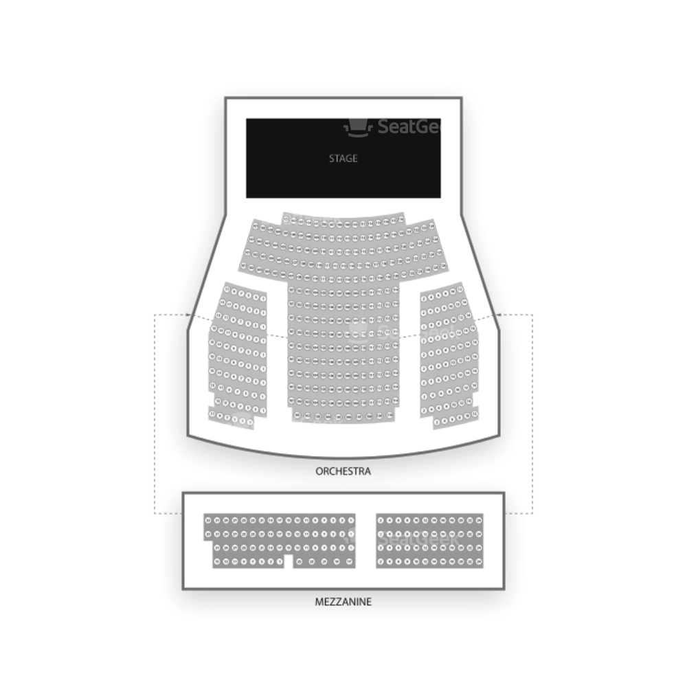 New World Stages / Stage 1 Seating Chart Broadway Tickets National