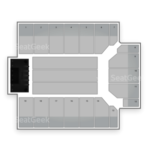 San Jose State Event Center Seating Chart Concert