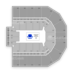 John Paul Jones Arena Seating Chart Dance Performance Tour
