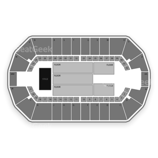 Tingley Coliseum Seating Chart Concert