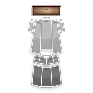 Moore Theatre Seating Chart Comedy