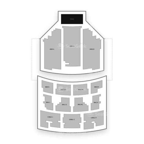Paramount Theatre Austin Seating Chart Concert