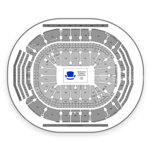 Air Canada Centre Seating Chart Comedy