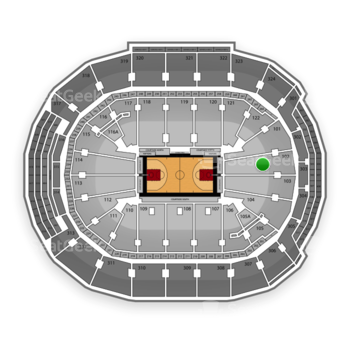 Toronto Raptors at Air Canada Centre Section 102 View
