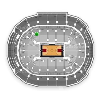 Toronto Raptors at Air Canada Centre Section 117 View