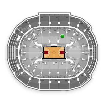 Toronto Raptors at Air Canada Centre Section 120 View
