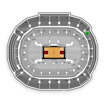 Toronto Raptors at Air Canada Centre Section 301 View