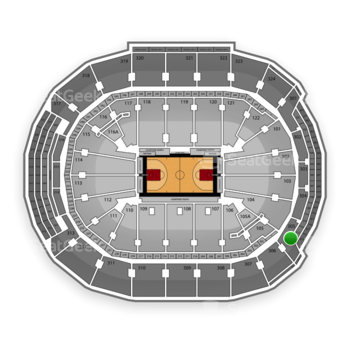 Toronto Raptors at Air Canada Centre Section 305 View